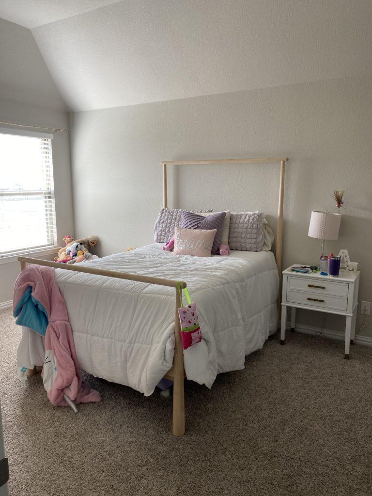 Girls Room Before Photo