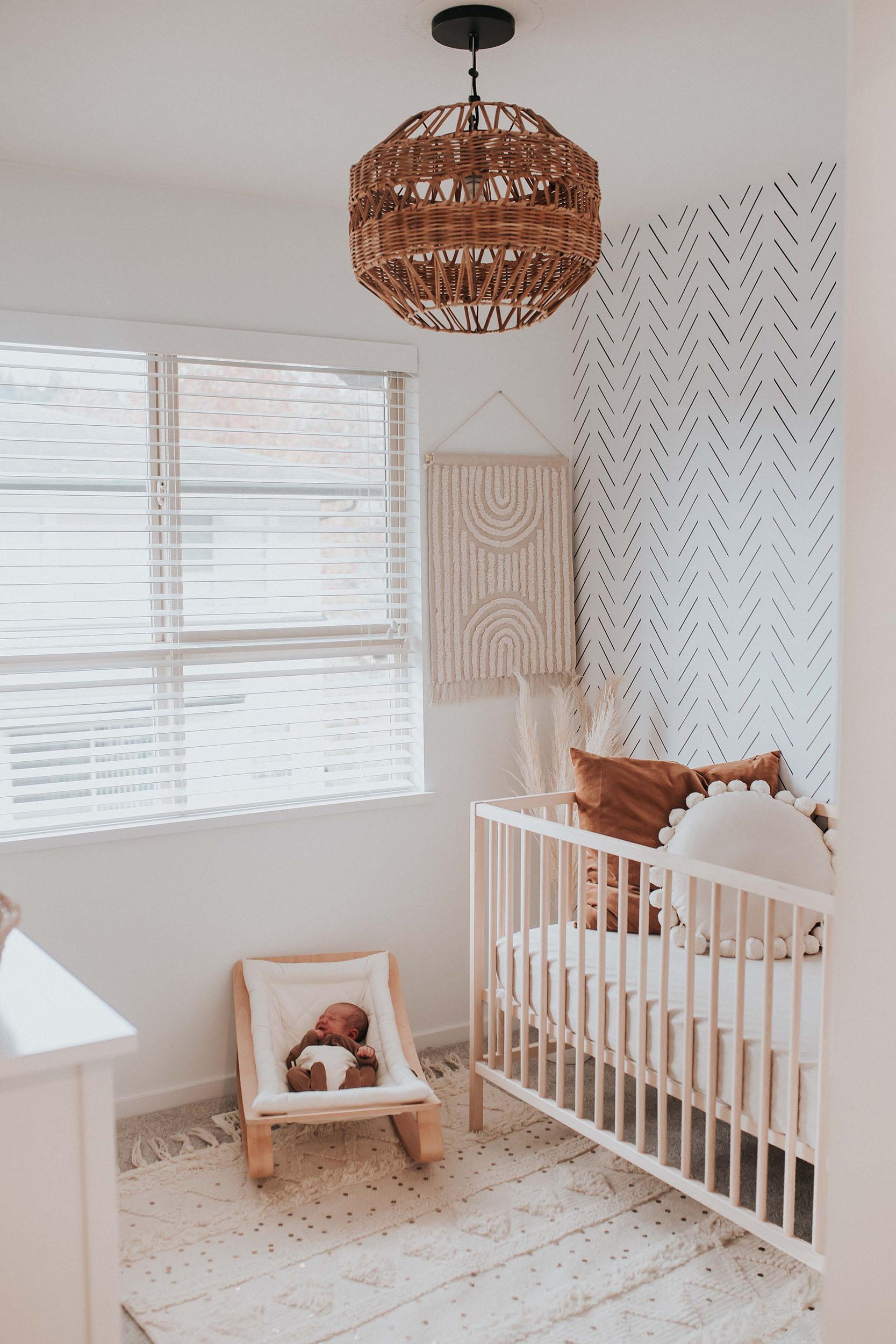 Neutral Rainbow Baby Boho Nursery - Project Nursery