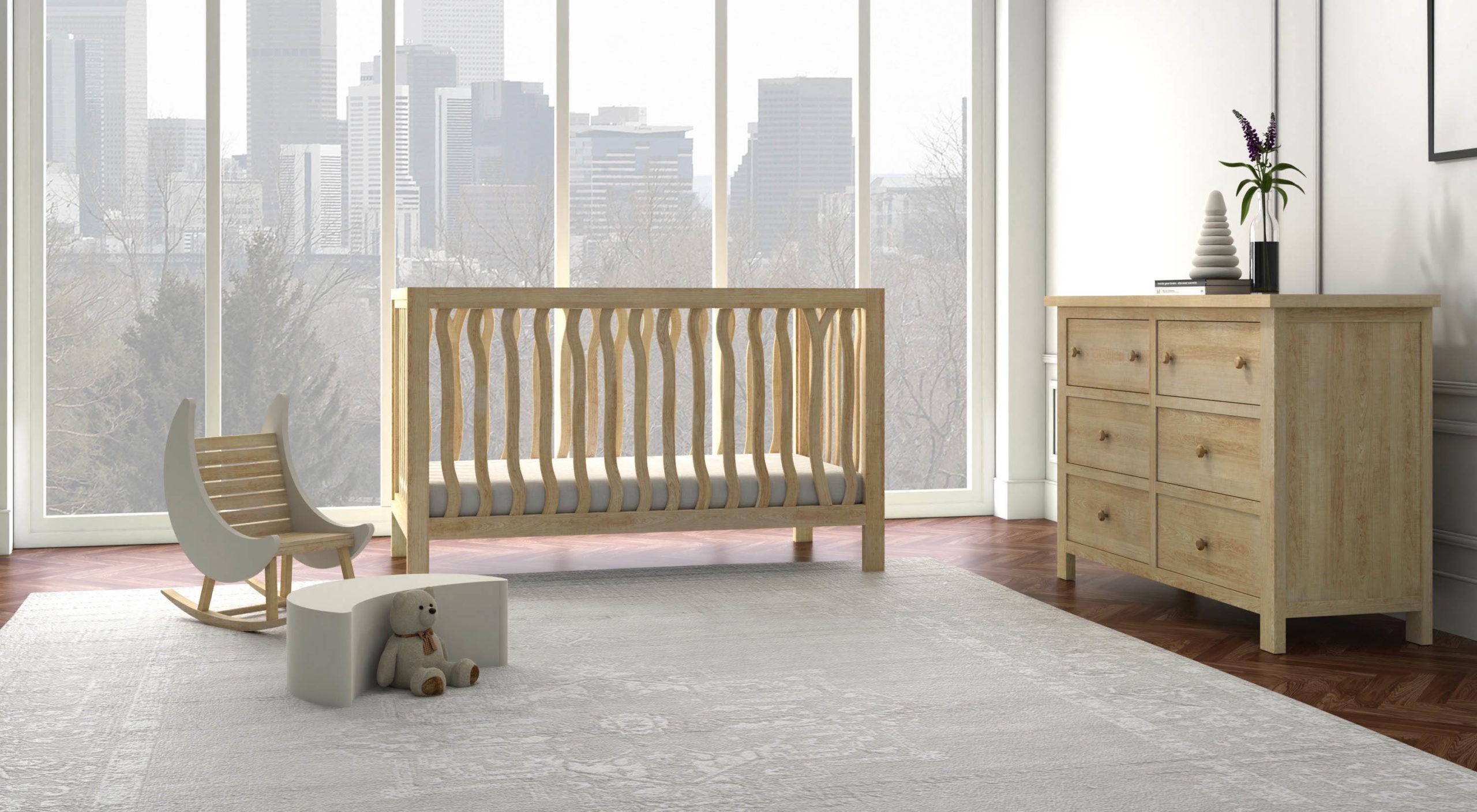Branch Crib by Milk Street Baby
