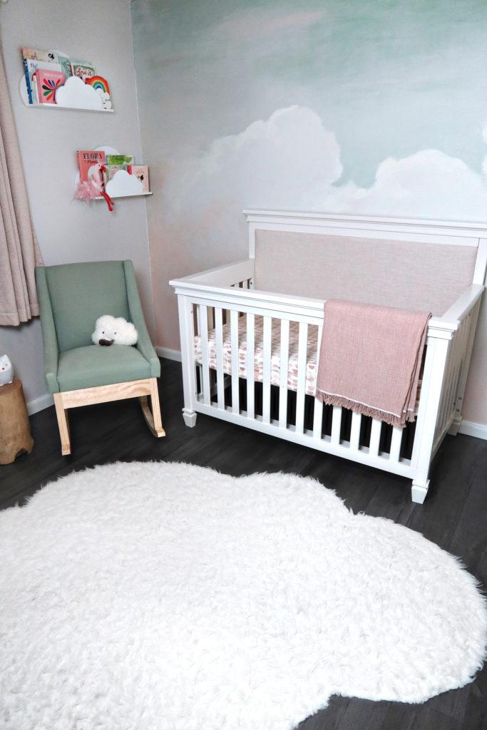 Sky Nursery by Gray House Studio