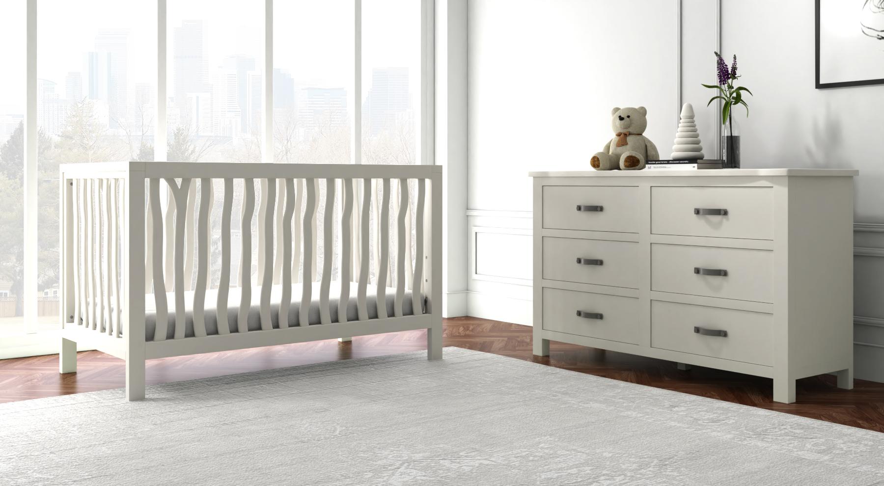 White Branch Crib by Milk Street Baby