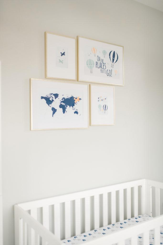 Travel inspired prints