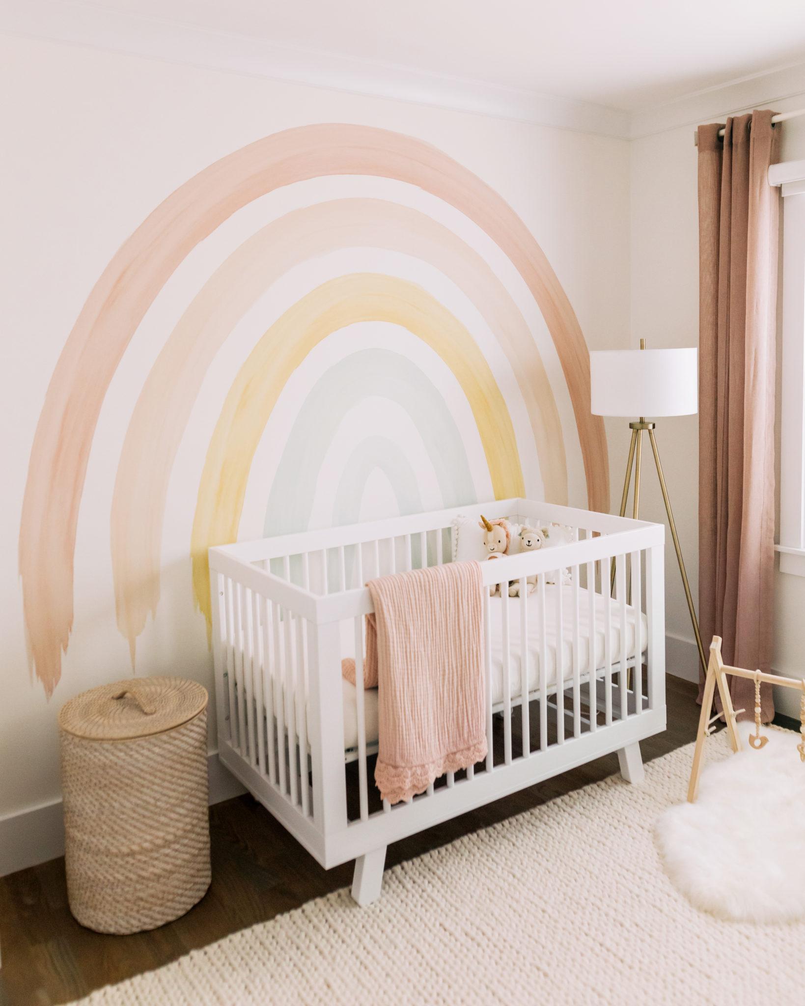 Rainbow Reinvented Trend - Nursery by Kate Lemmon