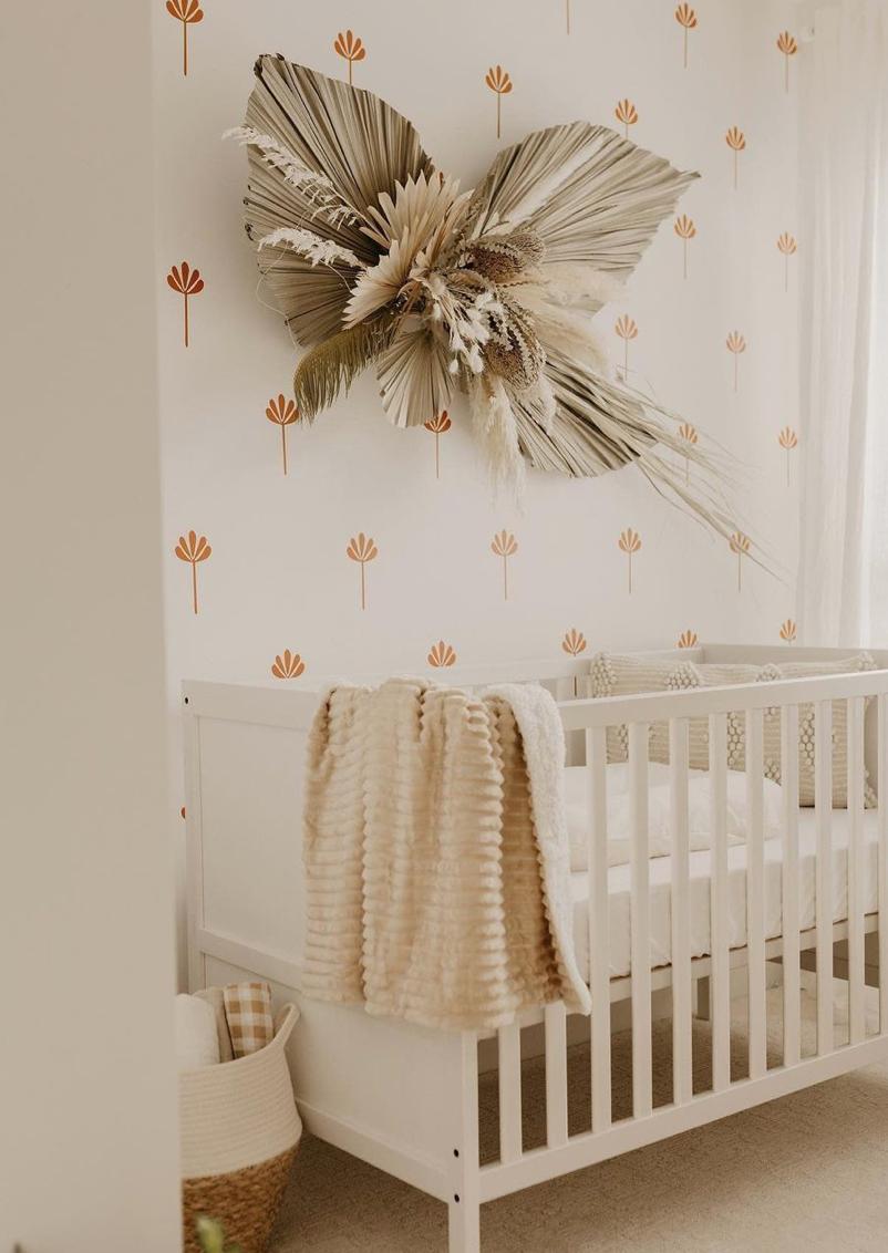 Decals on Repeat - Sago Palms Decals in Nursery by @jessmmclaren