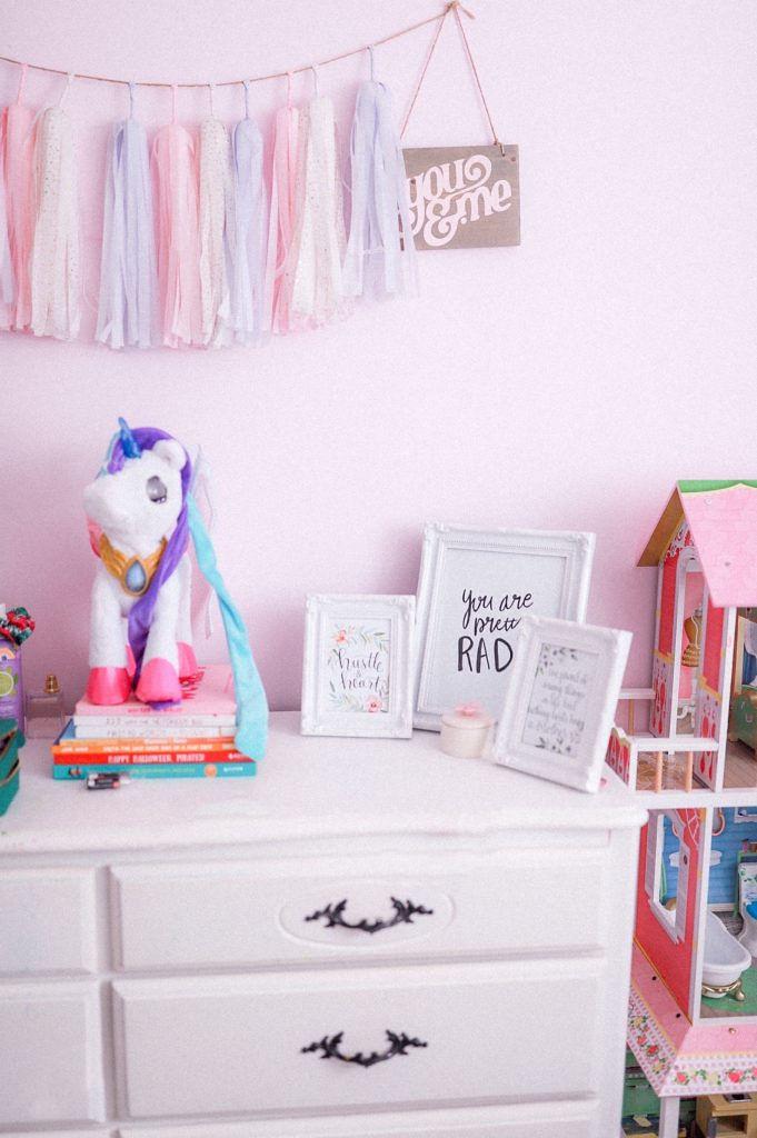 unicorn decor baby room