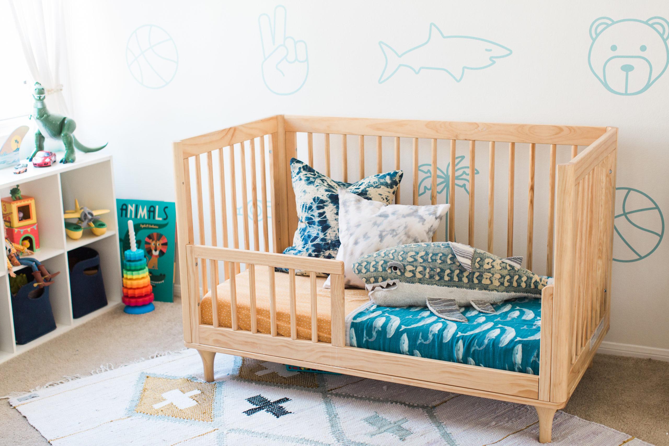 Beach Themed Toddler Room
