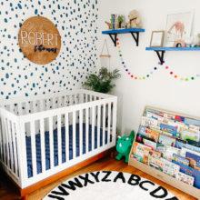 photo of Eclectic Boys Nursery