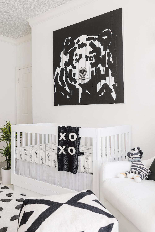 Bear Art in Modern Nursery