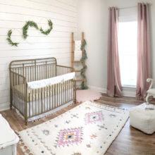 photo of A Vintage Baby Girl Nursery