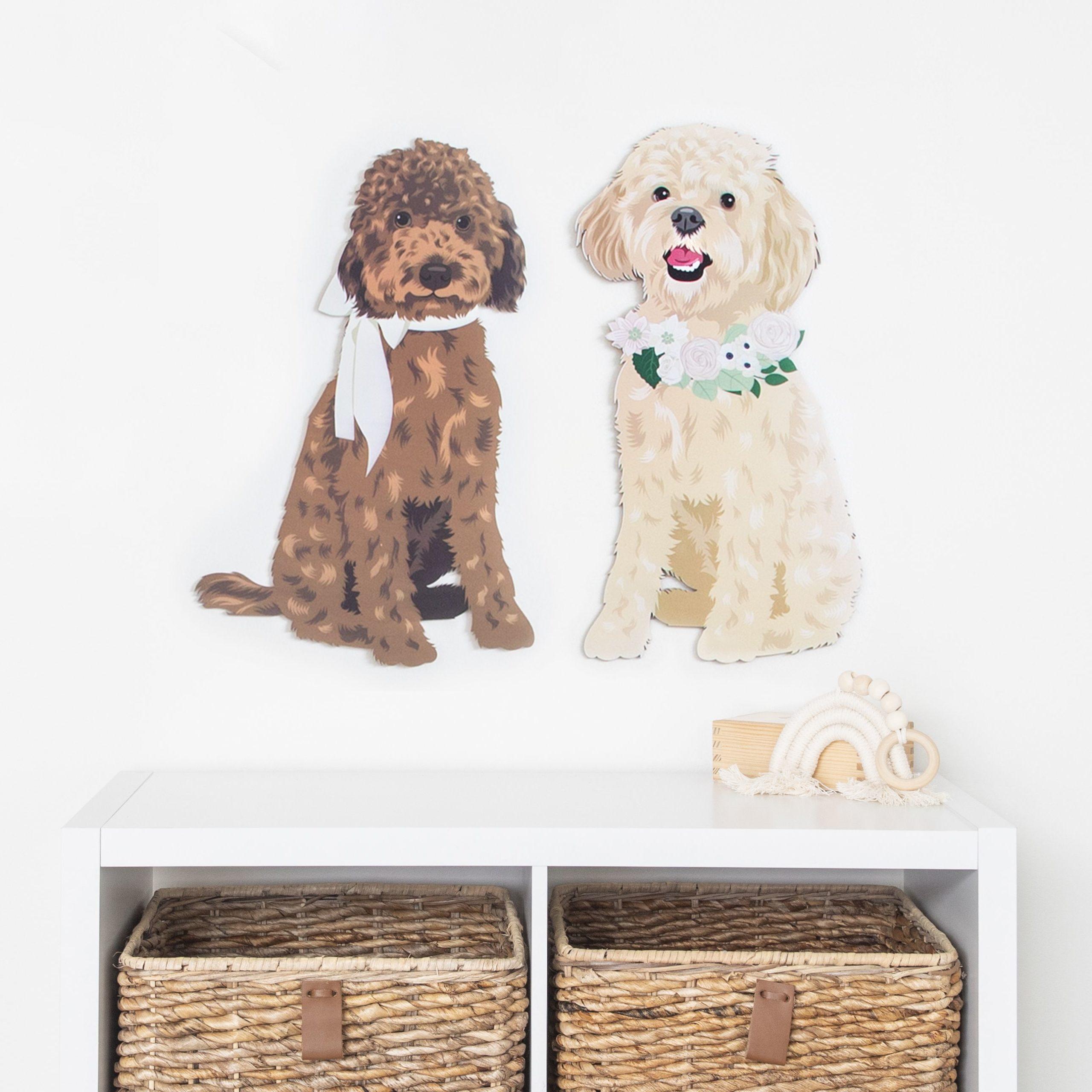 Custom Pet Portraits from Kiki and Max