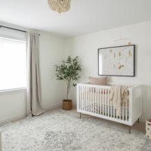 photo of Neutral & Elegant Nursery