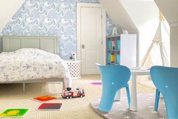 Calming room for a sensory child